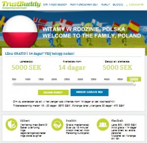 Trustbuddy webbsida
